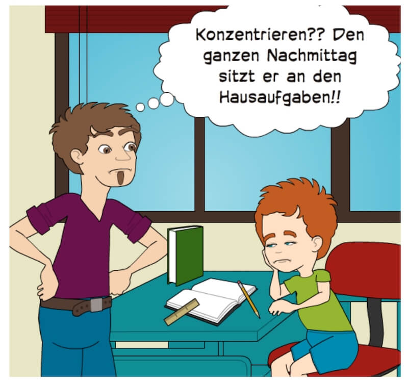 Brain4Kids Hausaufgabenstress