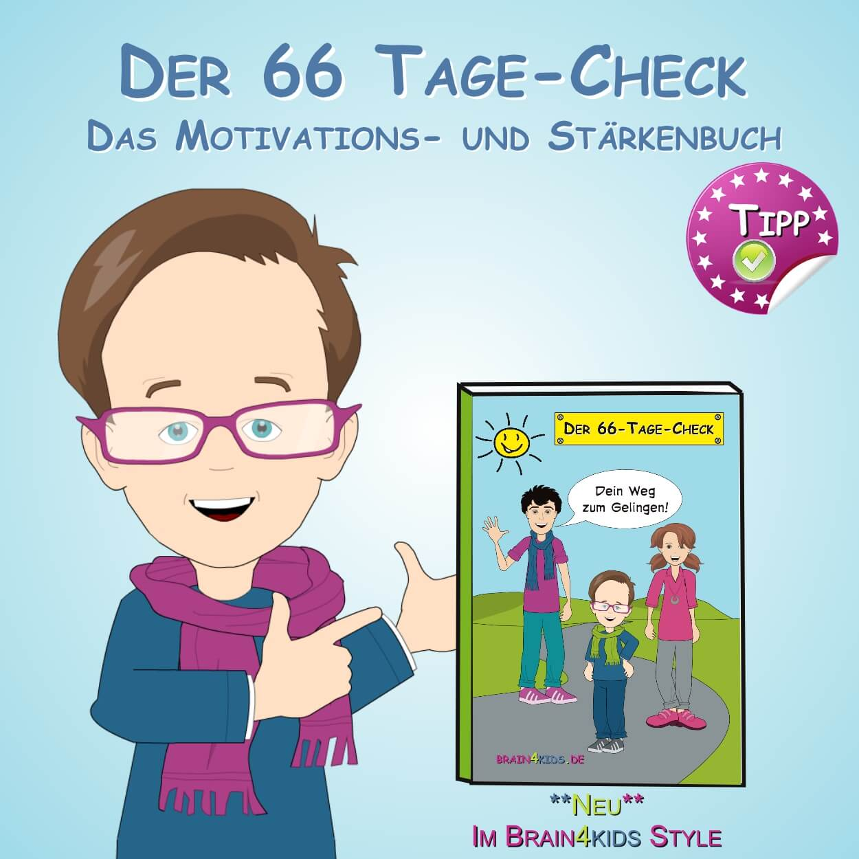 Buch Der 66 Tage-Check - Dein Motivations- und Stärkenbuch
