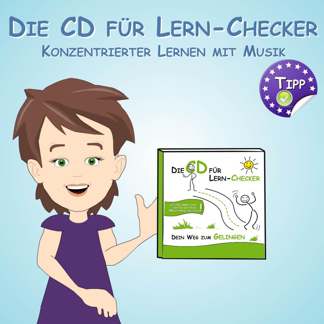 CD Lern-Checker - Konzentrierter Lernen mit Musik