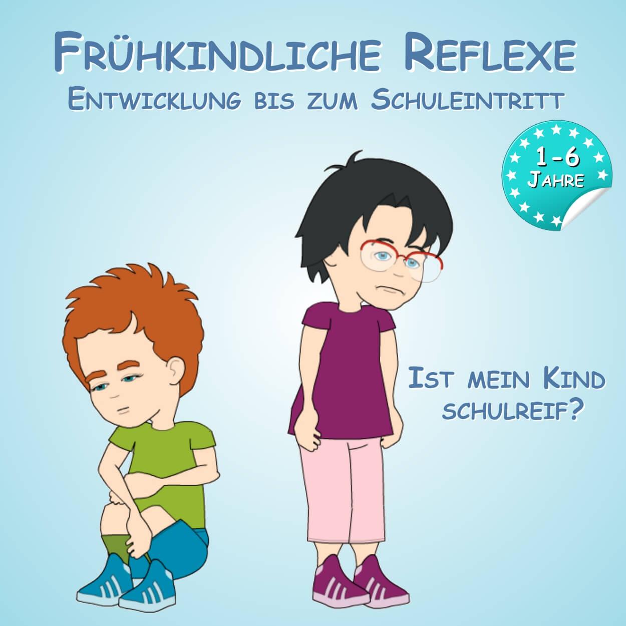 Frühkindliche Reflexe - Ist mein Kind Schulreif?