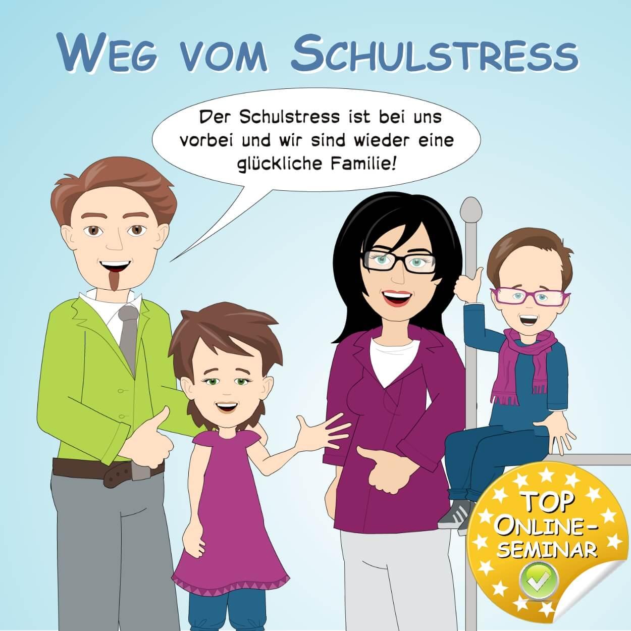 """Brain4kids Onlineseminar """"Weg vom Schulstress"""""""