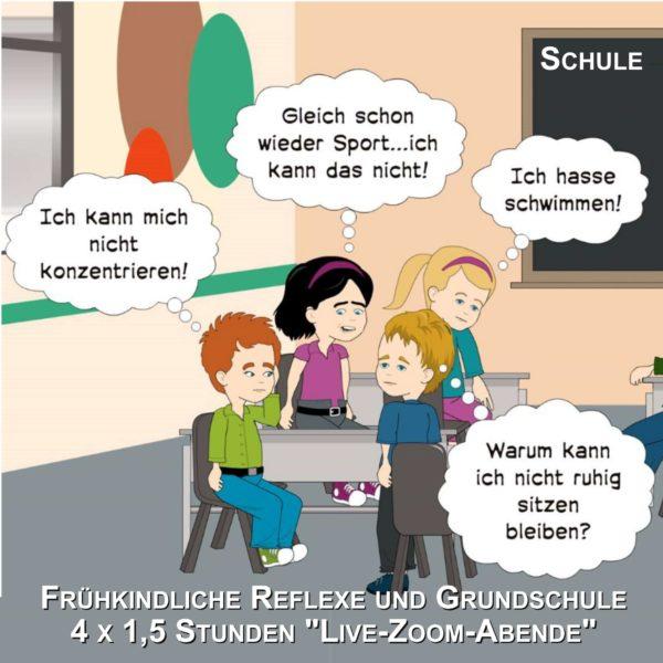 Frühkindliche Reflexe und Auffälligkeiten in der Grundschule